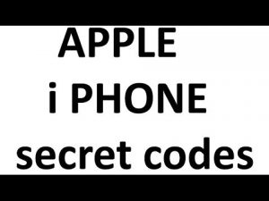 14 Secret USSD codes for iPhone